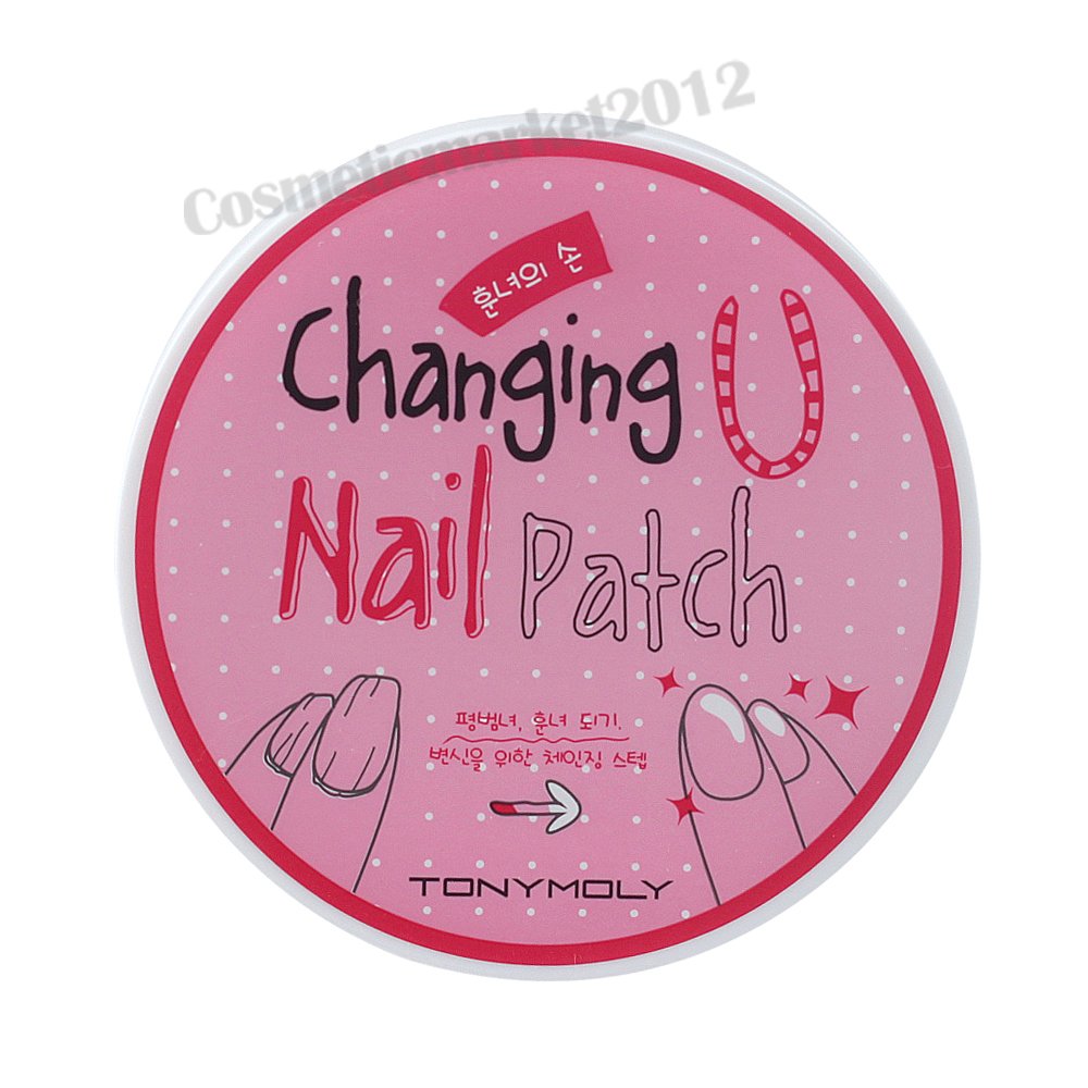Details about TONYMOLY Changing U Nail Patch 38g (12 Patch) Free gifts