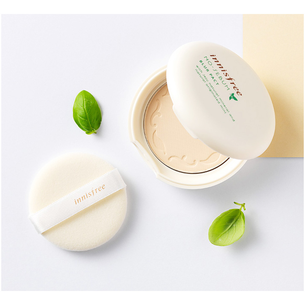 Details about Innisfree No-Sebum Blur Pact 8.5g